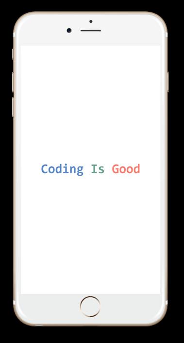 Coding Is good