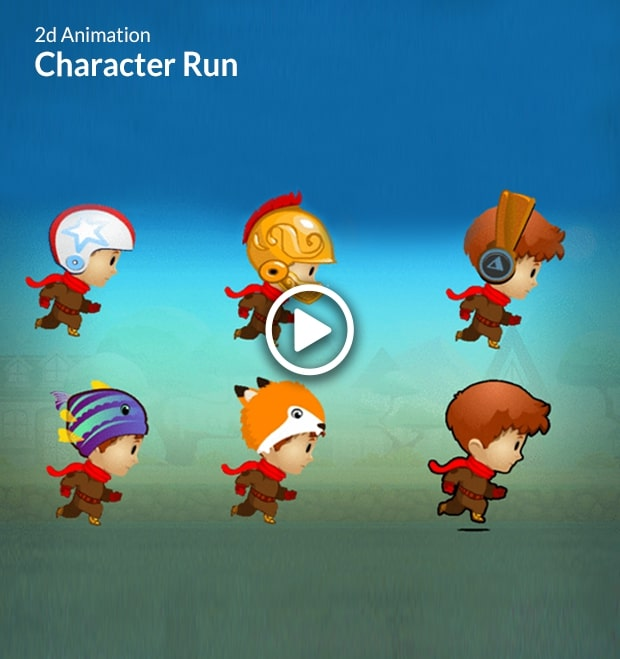 Character Run