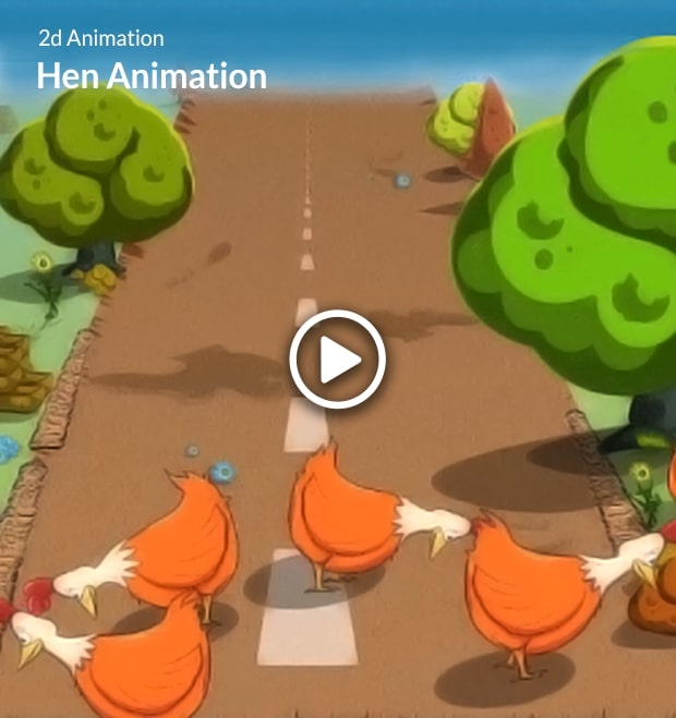 Hen Animation