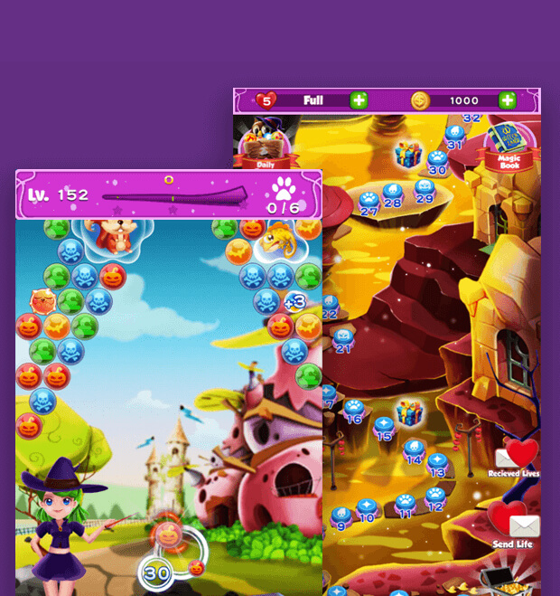 WitchLand-Magic Bubble Shooter