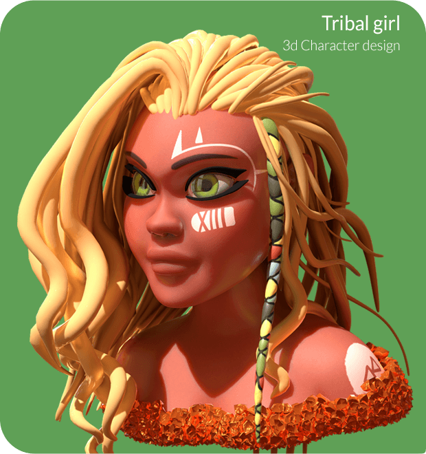 Tribal Girl