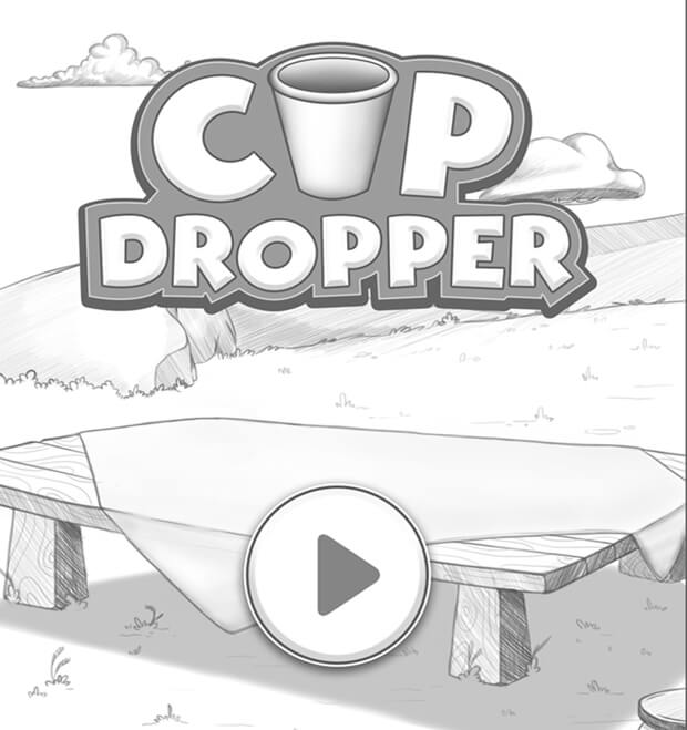 Cup-dropper